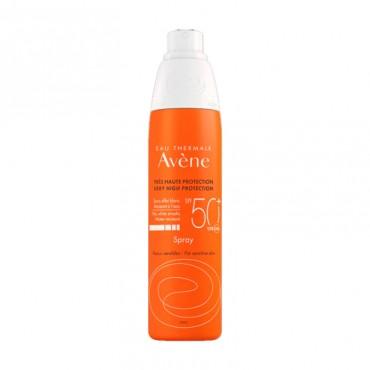 Avene Solar Spray Pieles Sensibles SPF50+ 200 ml