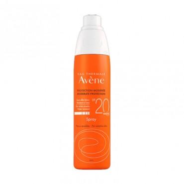 Avene SPF20 Spray Protección Media 200 ml