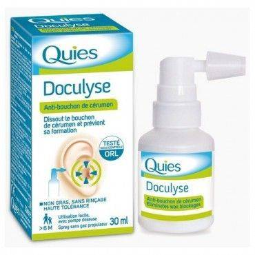 Doculyse Quies Spray Higiene Conducto Auditivo 30 Ml
