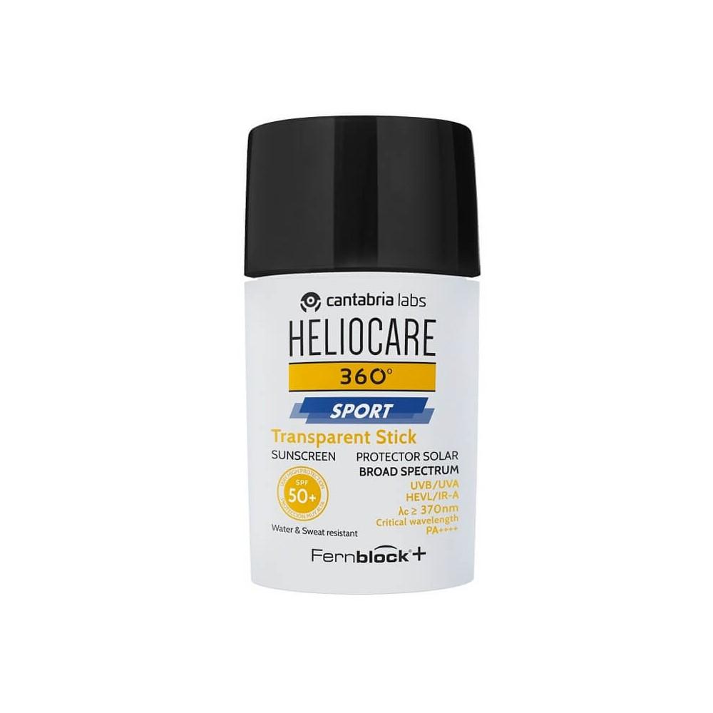 Heliocare 360º Spor Transparent Stick Spf50 25 gr