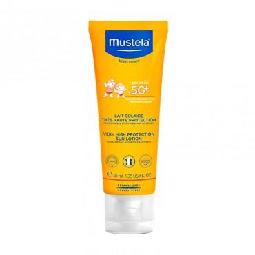 Mustela Leche Solar SPF 50 40 ml
