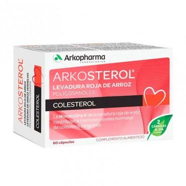 Arkosterol Regula Colesterol Levadura Arroz Rojo 60 Capsulas