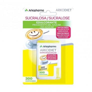 Arkodiet Sucralosa Edulcorante 300 comp