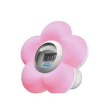 Avent Termometro Digital de Baño y Habitación Rosa