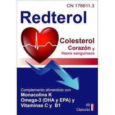 Redterol 60 Capsulas