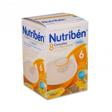 Nutriben 8 Cereales Y Miel Con Calcio 600 gr