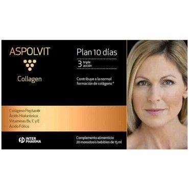 Aspolvit Collagen Antiaging Triple Accion 20 Monodosis