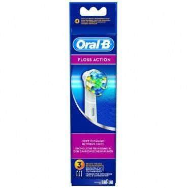 Oral-B Recambios Cepillo Eléctrico Floss Action 3 Unidades