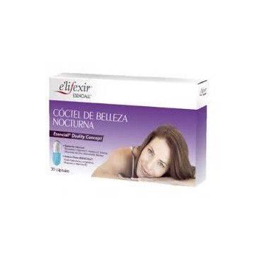 Elifexir Esenciall Cóctel de Belleza Nocturna 30 Cápsulas