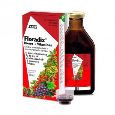 Floradix Hierro + Vitamina C 500 ml