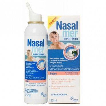 Nasalmer Hipertónico Bebés Spray Nasal Nuevo 125ml.