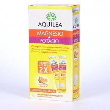 Aquilea Magnesio + Potasio Duplo 2x14 Comprimidos