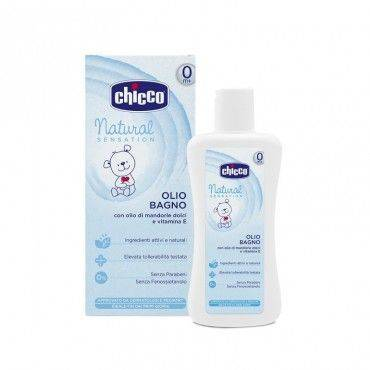 Chicco Natural Sensation Aceite De Baño 200 Ml
