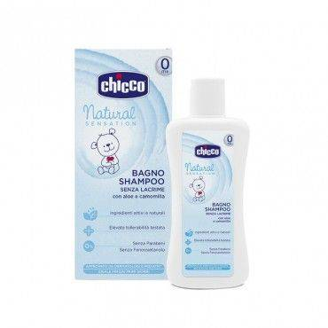 Chicco Natural Sensation Gel De Baño y Champu 500 Ml