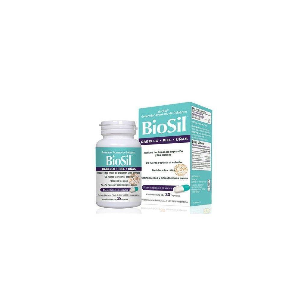 Biosil Cabello, Piel y Uñas 30 Cápsulas