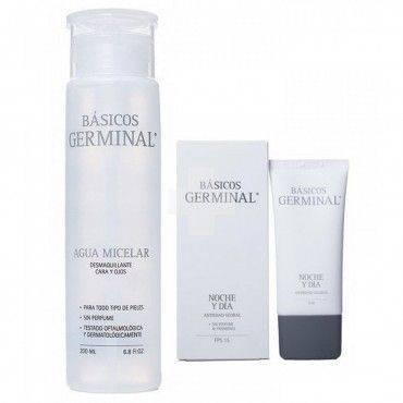 Germinal Pack Agua Micelar 200Ml+Crema Noche Día Fps15 50Ml