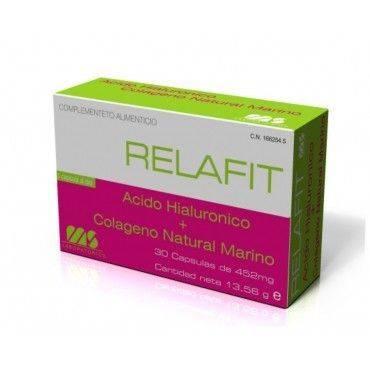 Relafit Acido Hialuronico + Colágeno Marino Natural 30 Capsulas