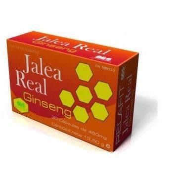 Relafit Jalea Real Ginseg 30 Cápsulas