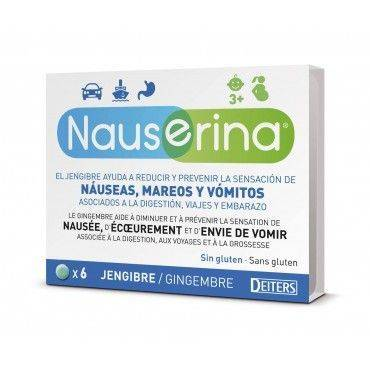 Nauserina 6 Comprimidos
