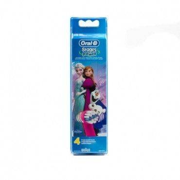 Oral-B Recambios Stages Power Frozen 4 Uds