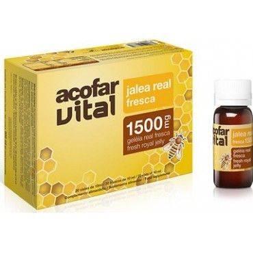 Acofarvital Jalea Real Fresca 1500 Mg 20 Viales