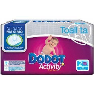 Dodot Toallitas Activity 2X54 uds