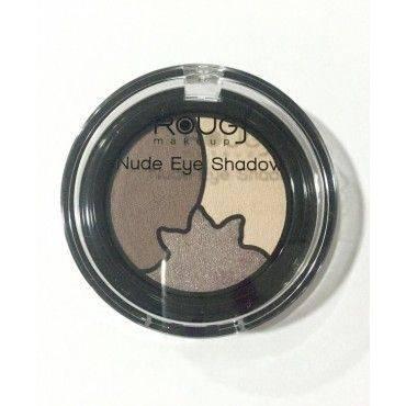 Rougj+ Makeup Sombras Nude Eye Shadow