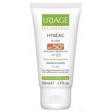 Uriage Hyseac Solar FPS 50+ Fluido 50 Ml
