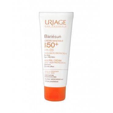 Uriage Bariesun FPS 50+ Crema Mineral 100 Ml