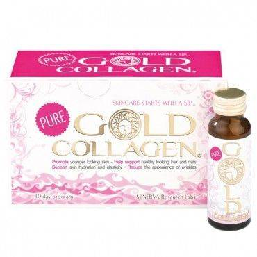 Minerva Gold Collagen 10 Frascos de 50Ml