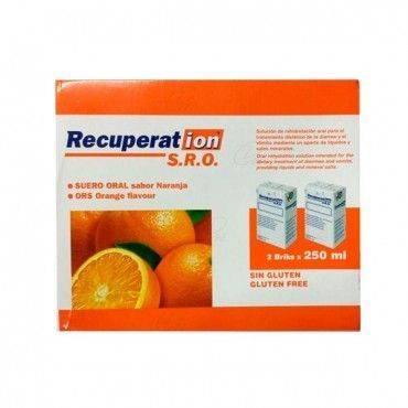 Recuperation Suero Oral Naranja 2x250 Ml