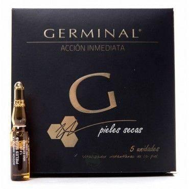 Germinal Acción Inmediata Pieles Secas 5 Ampollas