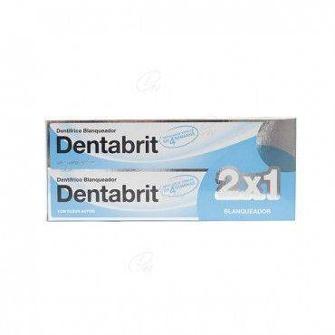 Dentabrit Pasta Dental Blanqueador 125 Ml+125 Ml