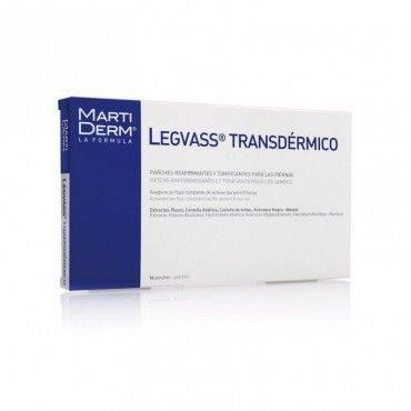Martiderm Legvass Transdermico Parche 14 Parches
