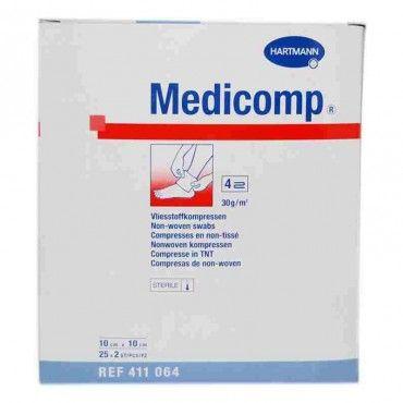 Hartmann Medicomp Compresas Apósito Estéril 10x10