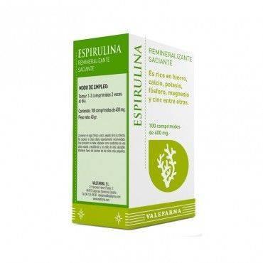 Valefarma Espirulina 100 Comprimidos