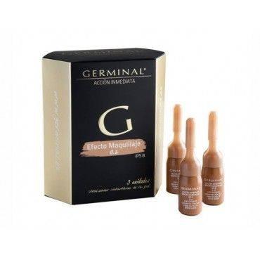 Germinal A C Inmed Efecto Maquillaje Tono 02 Dorado 3Amp 3Ml