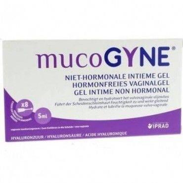 Mucogyne Gel Vaginal Monodosis 8 x 5 Ml