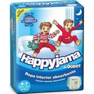 Dodot Pañal Happyjama T7 Niño 17-29 Kg 17 Unidades