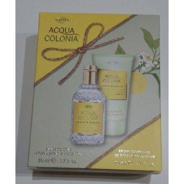 Nº 4711 Acqua Colonia Lemon & Ginger 50 Ml + Gel Aromático 75 Ml