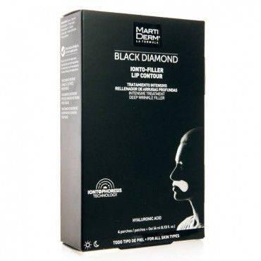 Martiderm Black Diamond Ionto Filler Lip Contour 4 Parches