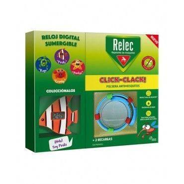Relec Pulsera Click-Clack + Regalo Reloj Pez