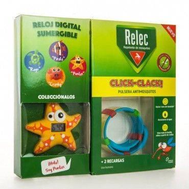 Relec Pulsera Click-Clack + Regalo Reloj Estrella