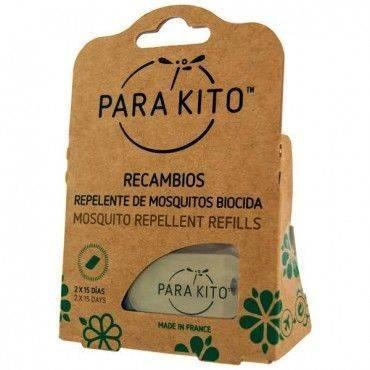 Parakito Recambio Pulsera y Llavero Antimosquitos