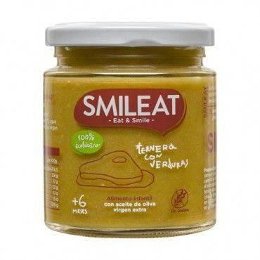 Smileat Ternera Con Verduras 230 Gramos