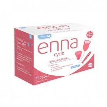 Enna Cycle Copa Menstrual Talla M 2 Copas Con Aplicador