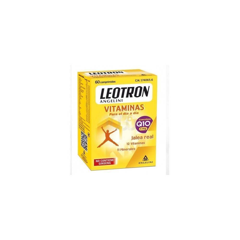 Angelini Leotron Vitaminas 60 Cápsulas