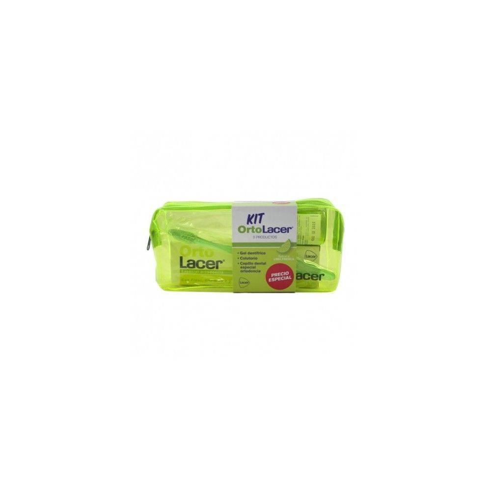 Ortolacer Kit Gel Dentifrico 75 Ml + Colutorio 100 Ml + Cepillo Dental
