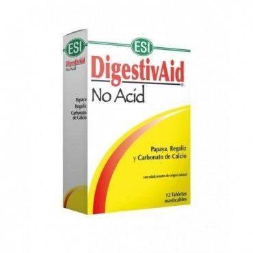 Esi DigestivAid No Acid 12 Tabletas