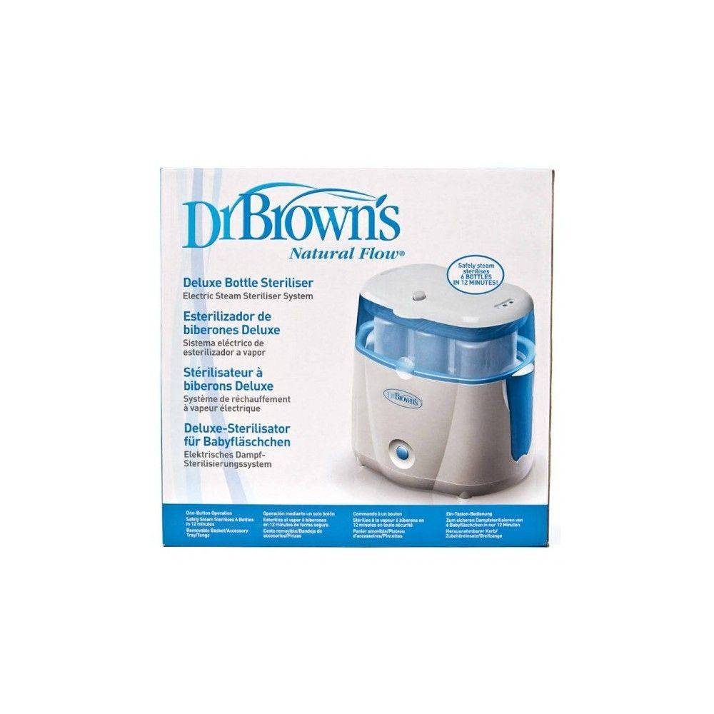 Dr Browns Flaschen Elektrischer Sterilisator Deluxe Natural Flow